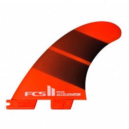 Ailerons Surf Fcs 2 Accelerat Neo Glass Tri Fin