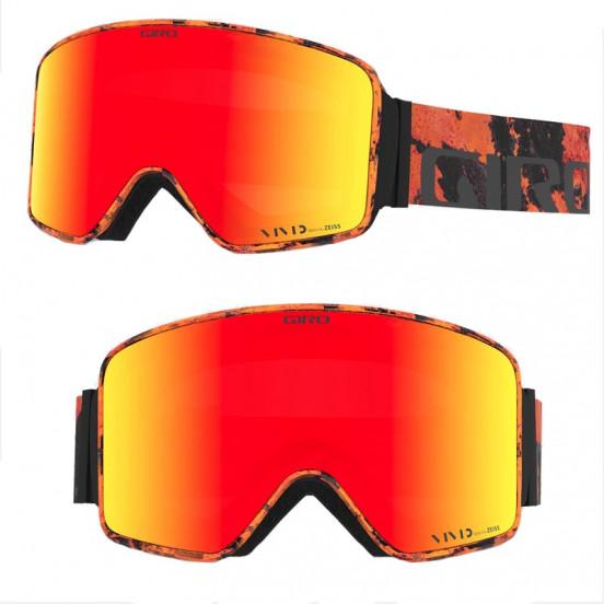 Masque Giro Method Lava Ecran Vivid Ember+infrared