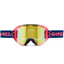 Masque Shred Amazify Bigshow Navy/rust Hero Mirror