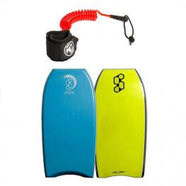 Bodyboard Science Pipe Pe 2019 + Leash bodyboard creatures poignet