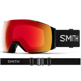 Masque Smith Io Mag Xl Black Cp Photo Red Mirror+cp Sun Blk