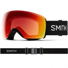 Masque Smith Skyline Xl Black Cp Ph Red Mirror