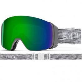 Masque Smith 4d Mag Cloudgrey Cp Sun Green Mir+cp Storm Yell