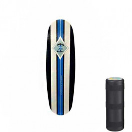 Indoboard Mini Pro Blue + Rouleau Grand Diametre