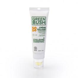 Stick Levres / Creme Solaire Greenbush Spf50