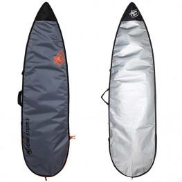 Housse Surf Creatures Shortboard Lite Gris Orange