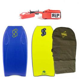 Bodyboard Science Pocket Pe 2020 + Leash RIP poignet + Housse Gyroll