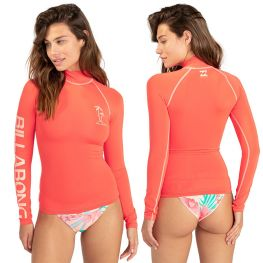 Top Lycra Billabong Logo Manches Longues 2021