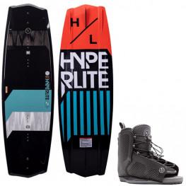 Wakeboard Hyperlite State 2.0 2021 + Chausse Hyperlite Remix 2021
