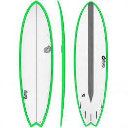 Surf Fish Torq Tet Cs Cr Coloured Rail 6'6 2021