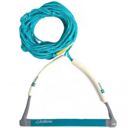 Corde+palo Follow Basic 3 Sect Package Wakeboard Grey Teal
