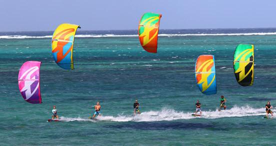 Aile de kitesurf d'occasion