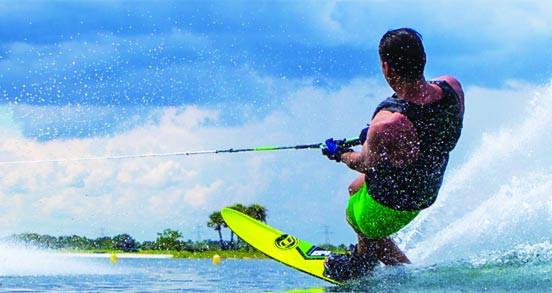 Cordes, Palonniers de ski nautique et V de Traction