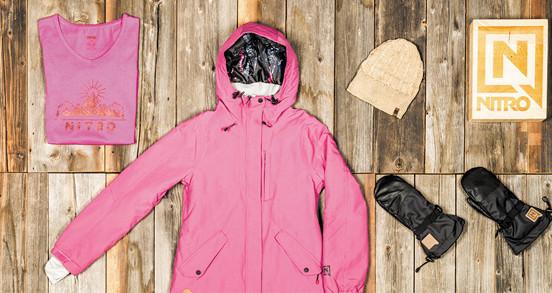Veste ski - snowboard femme